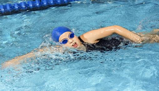 Ladyswimming